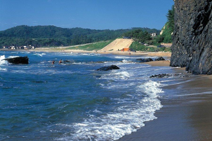 琴ヶ浜(泣き砂の浜) ※令和2年は海水浴場の開設はありません|石川の ...