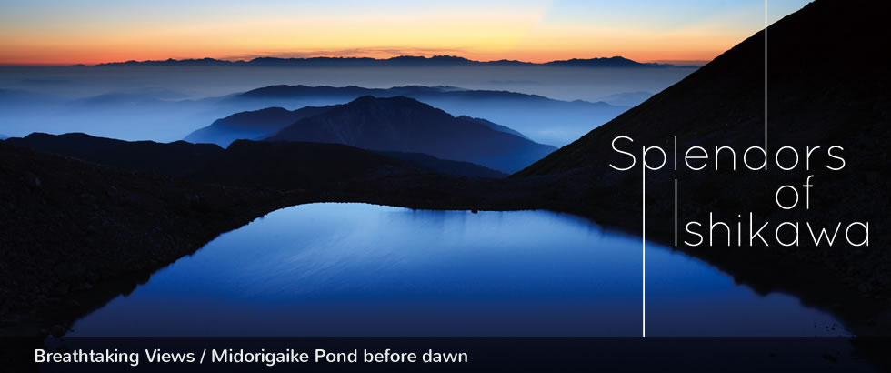 Breathtaking Views / Midorigaike Pond before dawn